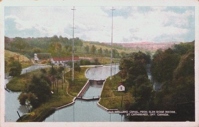 Old Welland Canal from the Glen Ridge Bridge