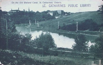 The Old Welland Canal Looking North