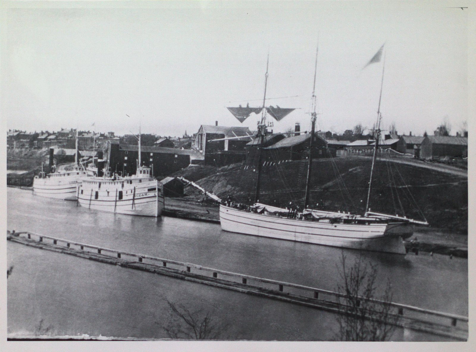 Second Welland Canal at Lock Four