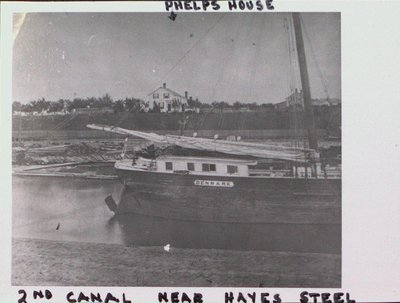 The Second Welland Canal near Hayes Steel
