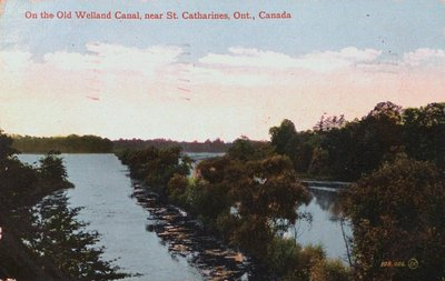 On the Old Welland Canal Near St. Catharines