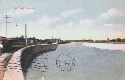 The Welland Aqueduct along the Welland Canal