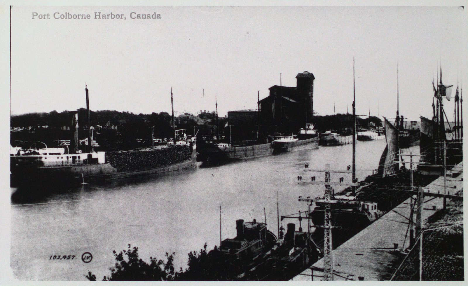 Second Welland Canal at Port Colborne