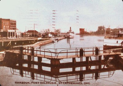 The Harbour at Port Dalhousie on The Third Welland Canal