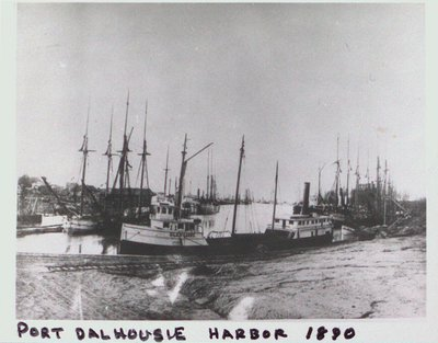 Port Dalhousie Harbour on the Welland Canal