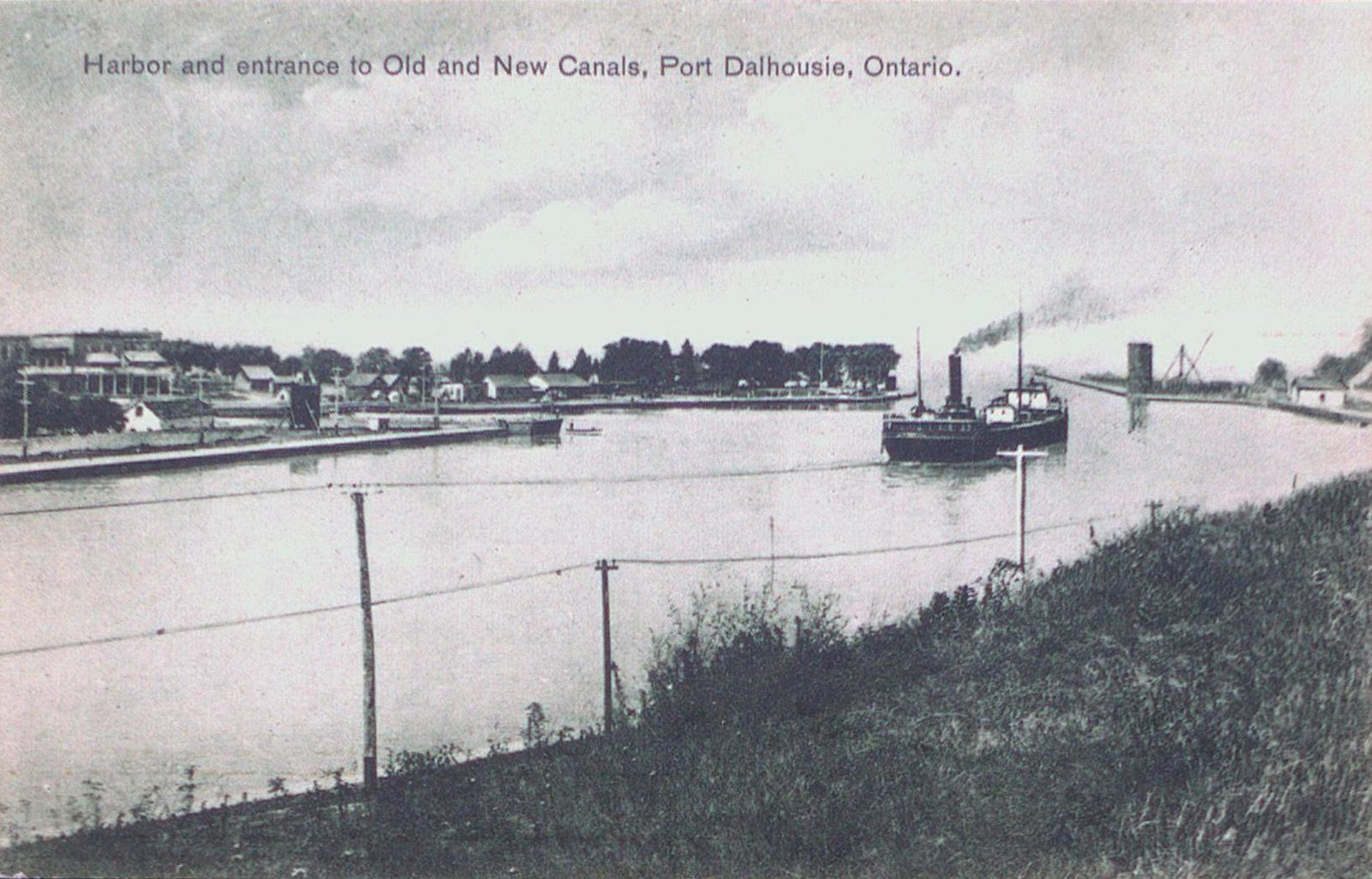 Port Dalhousie Harbour and Entrance to the Old and New Canals