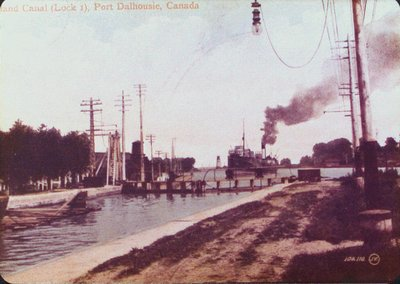 Welland Canal Lock 1, Port Dalhousie
