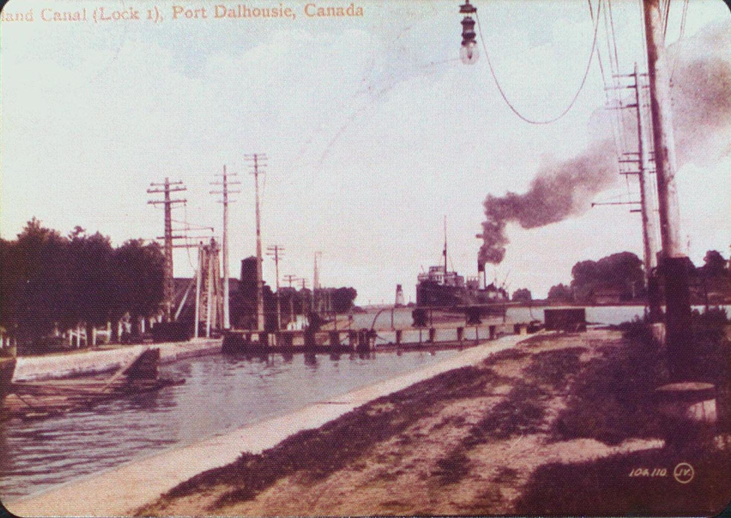 Welland Canal Lock 1, Port Dalhousie