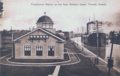 Transformer Station on the New Welland Canal