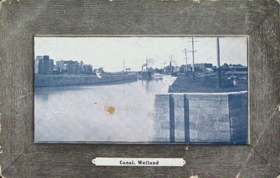 The Third Welland Canal at Welland