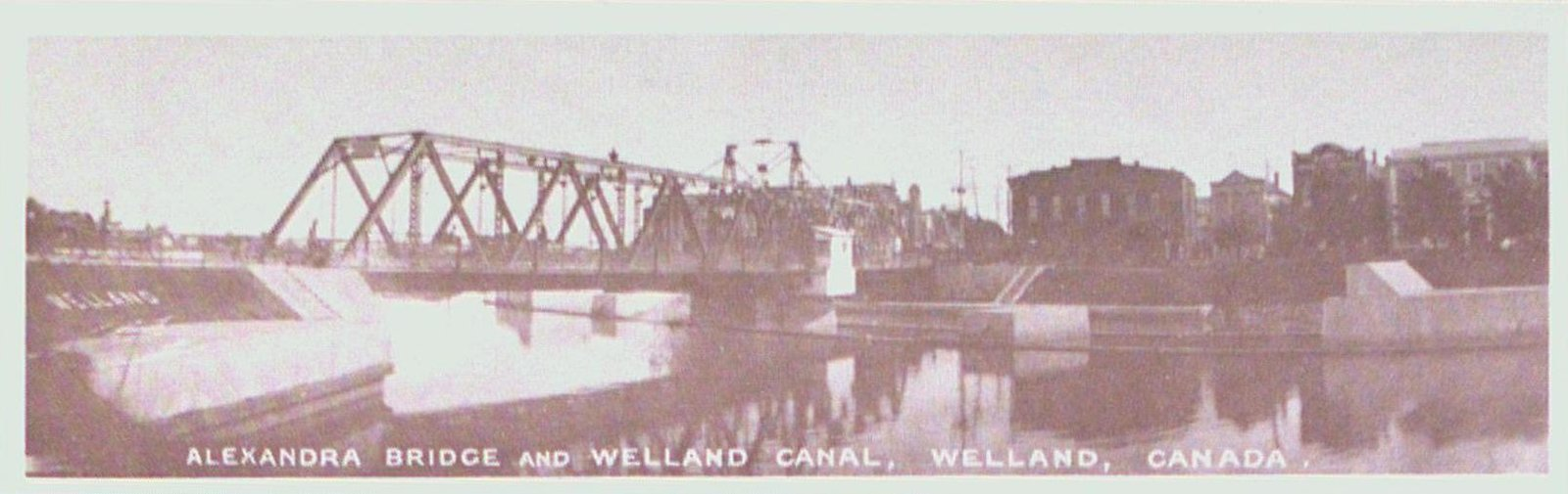 The Alexandra Bridge over the Third Welland Canal