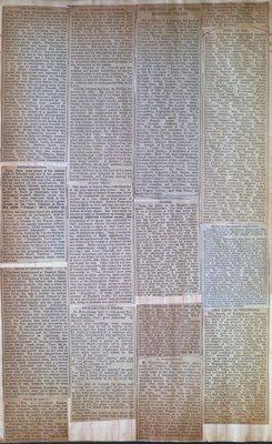 Teresa Vanderburgh's Musical Scrapbook #1 - Newspaper Clippings of the Death of Musicians