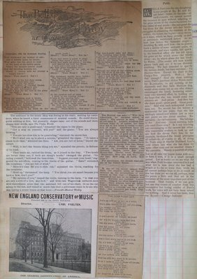 Teresa Vanderburgh's Musical Scrapbook #1 - Various Clippings