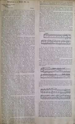Teresa Vanderburgh's Musical Scrapbook #1 - Franz Schubert's Symphony in C Major, no. 10