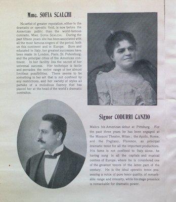 Teresa Vanderburgh's Musical Scrapbook #1 - Scalchi Operatic Co. at the Grand Opera House