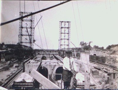 Charles Porter at the Construction of the Welland Ship Canal