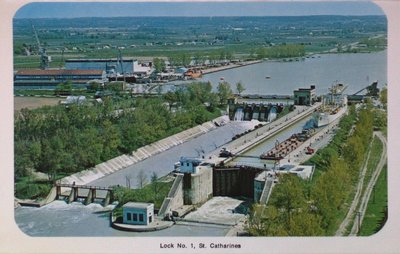 Lock One on the Welland Ship Canal