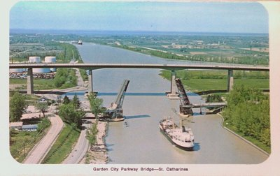 Garden City Skyway, Homer Bridge and Welland Ship Canal