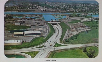 The Thorold Tunnel and the Welland Ship Canal