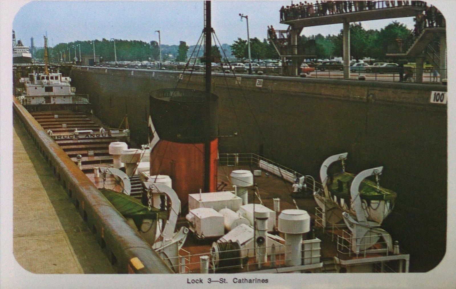 Lock Three on the Welland Ship Canal