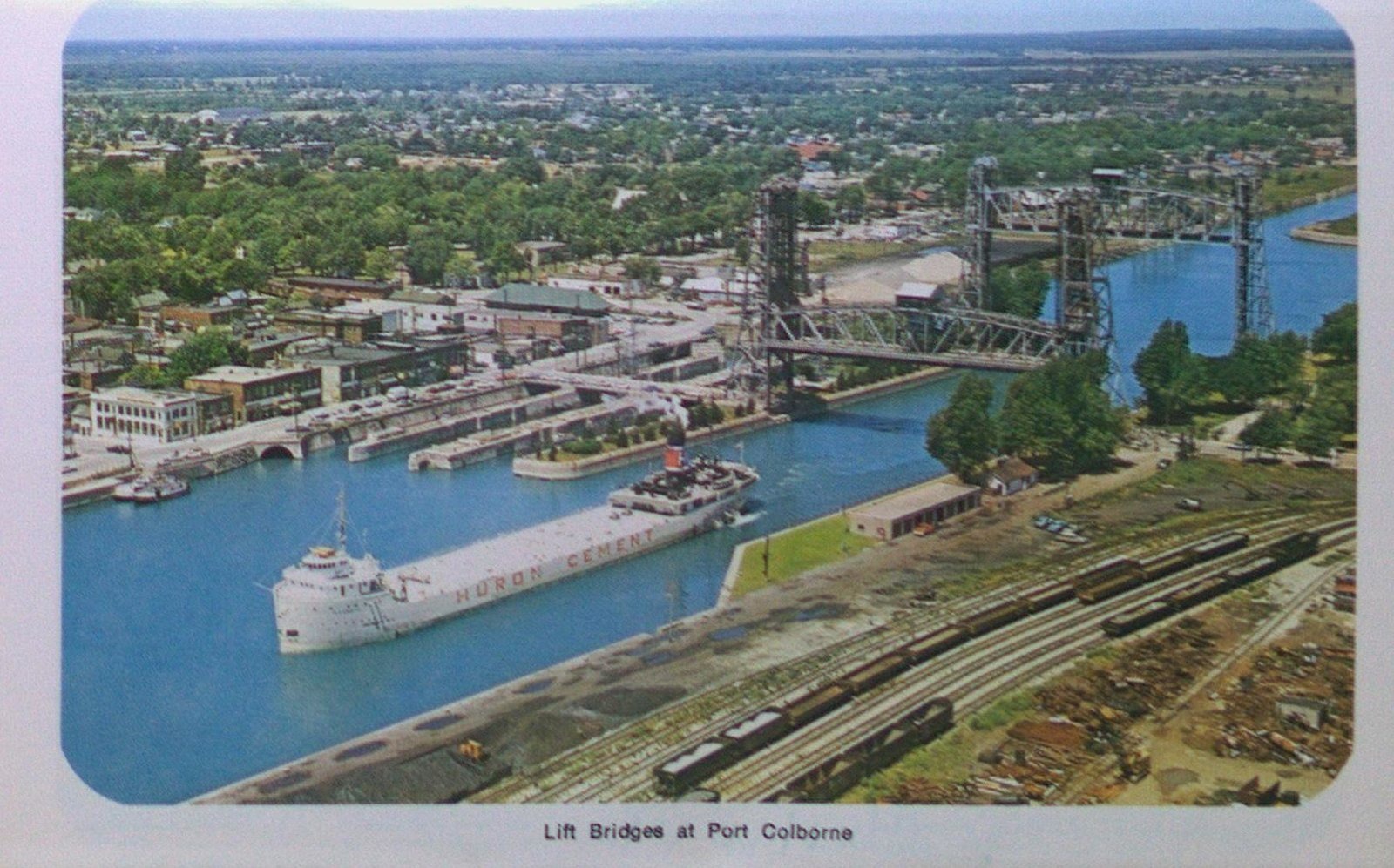 The Lift Bridges at Port Colborne on the Welland Ship Canal