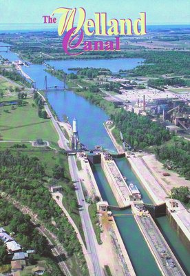 Aerial View of the Welland Ship Canal
