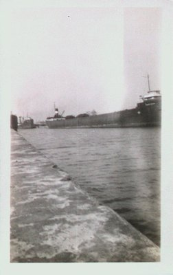 Ships Along the Welland Ship Canal