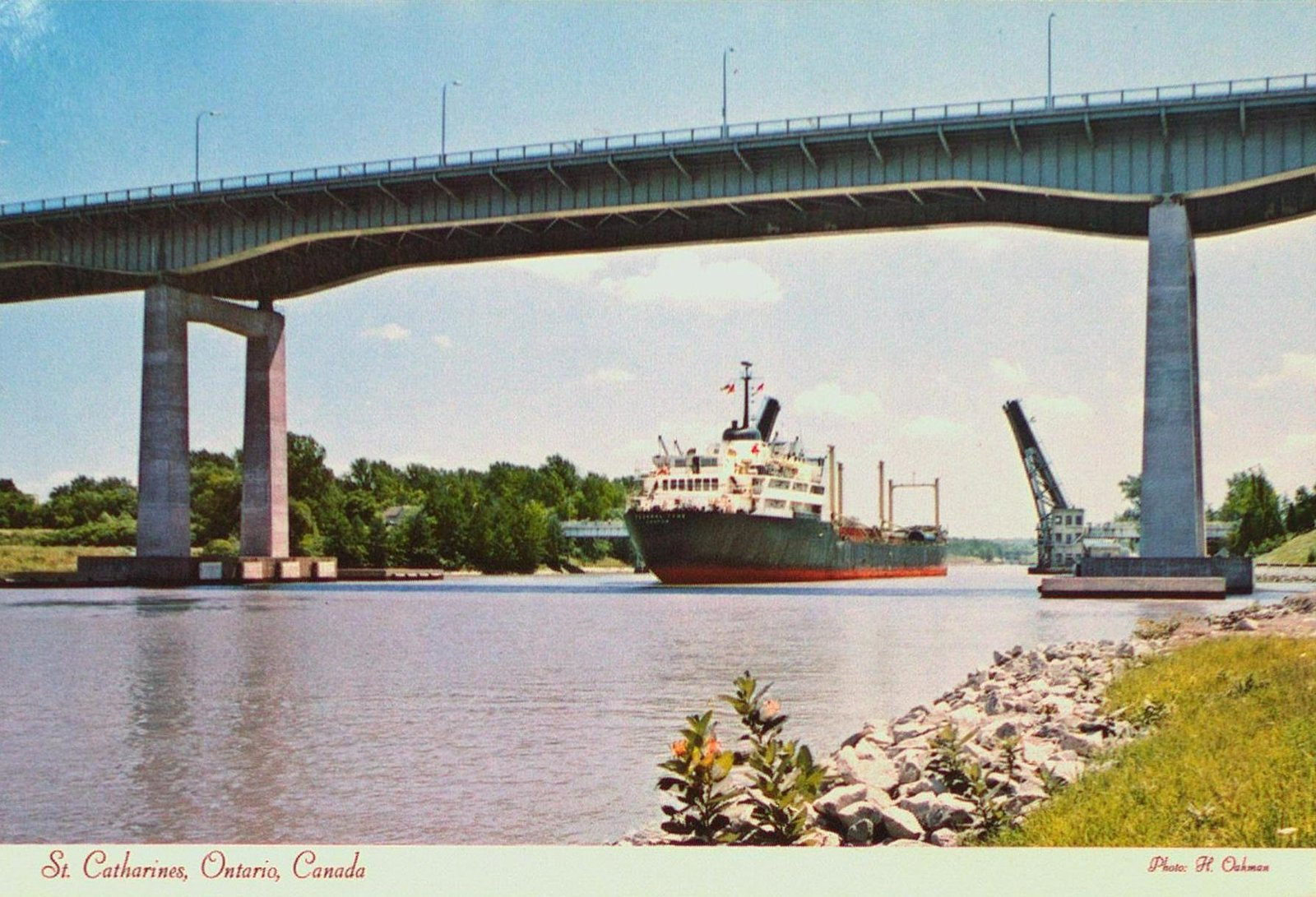 The Welland Ship Canal and the Garden City Skyway