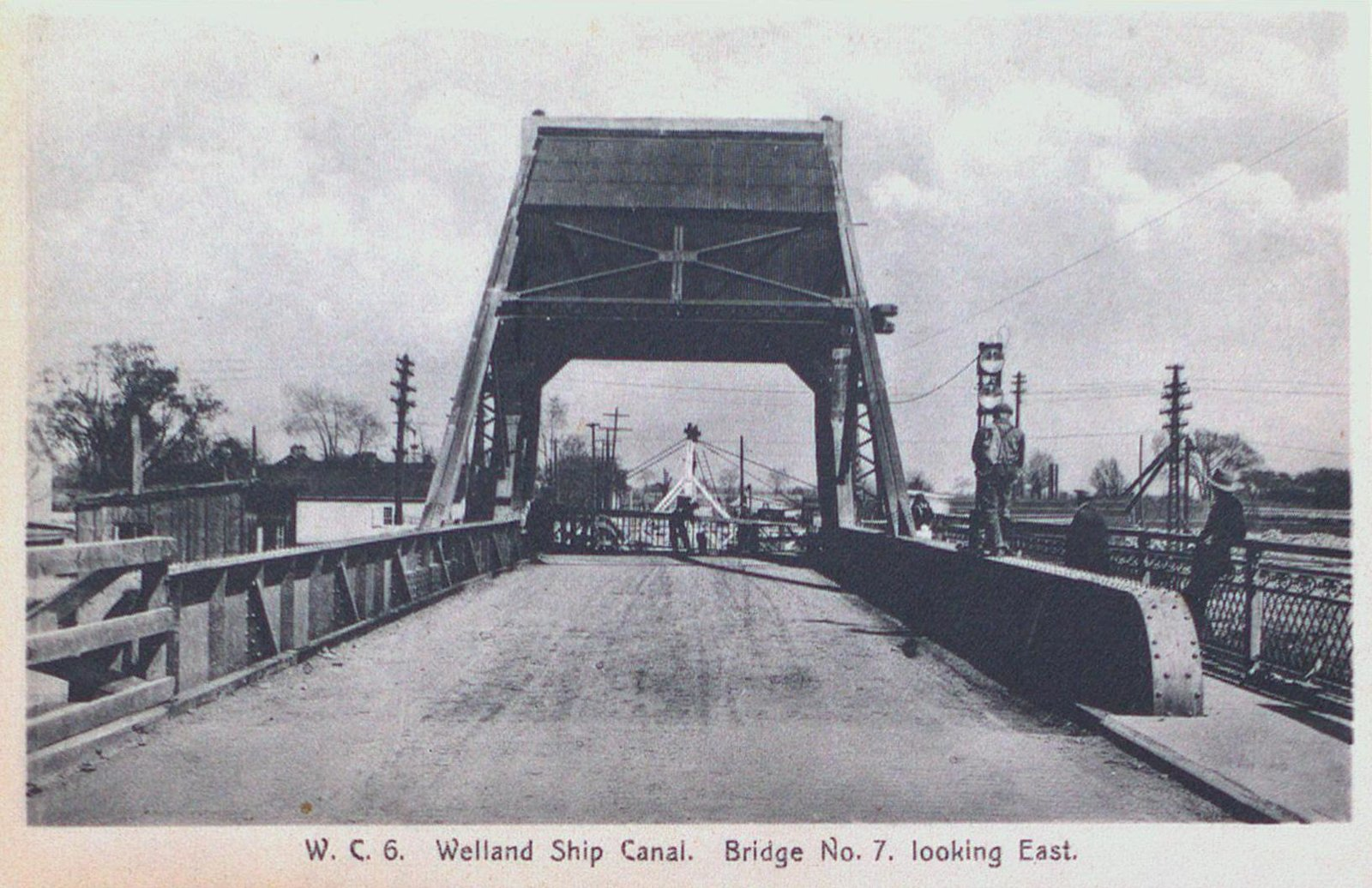 Bridge Number Seven Looking East on the Welland Ship Canal