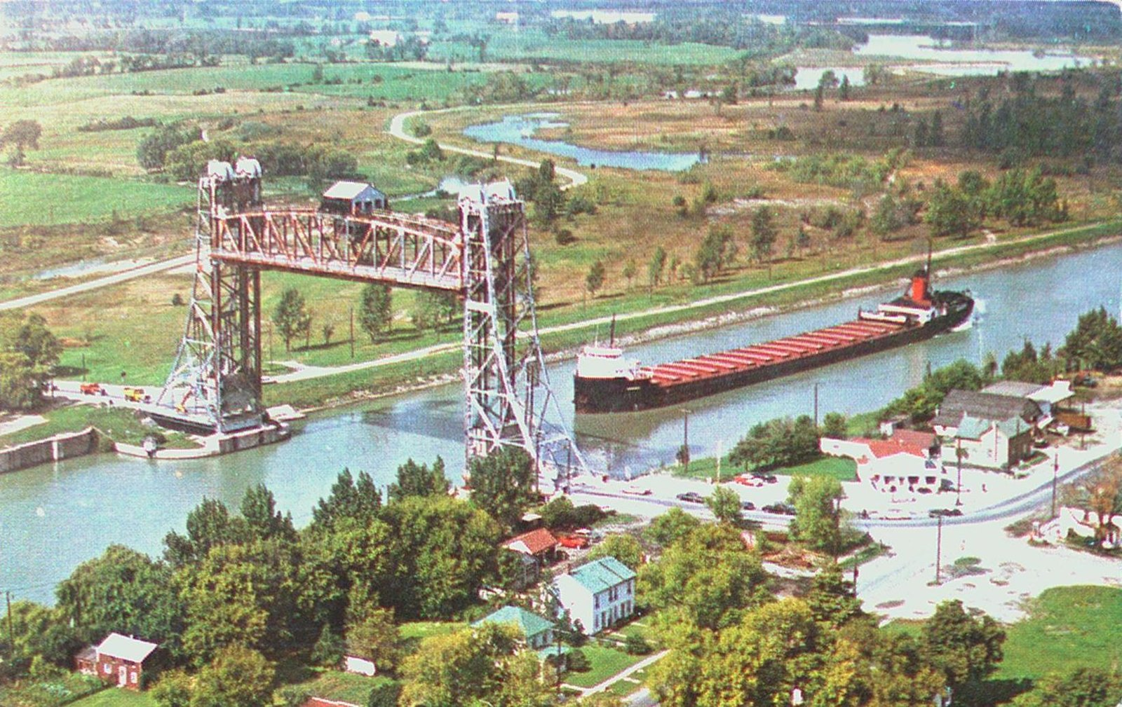 Bridge Number Eleven on the Welland Ship Canal