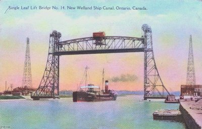 Bridge Number 14 on the Welland Ship Canal