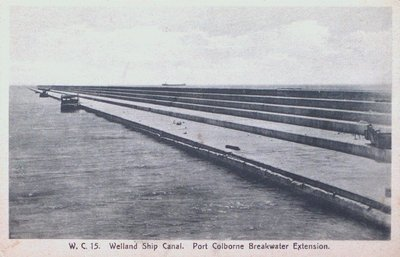 Port Colborne Breakwater Extension, Welland Ship Canal