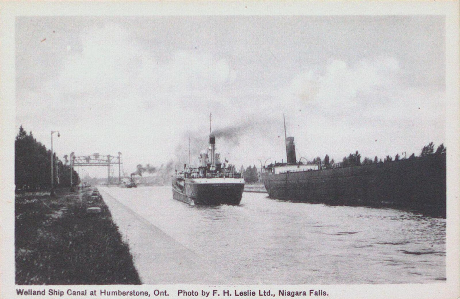The Welland Ship Canal at Humberstone