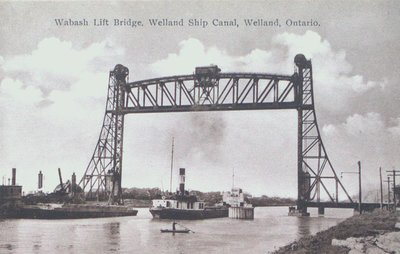Wabash Lift Bridge on the Welland Ship Canal