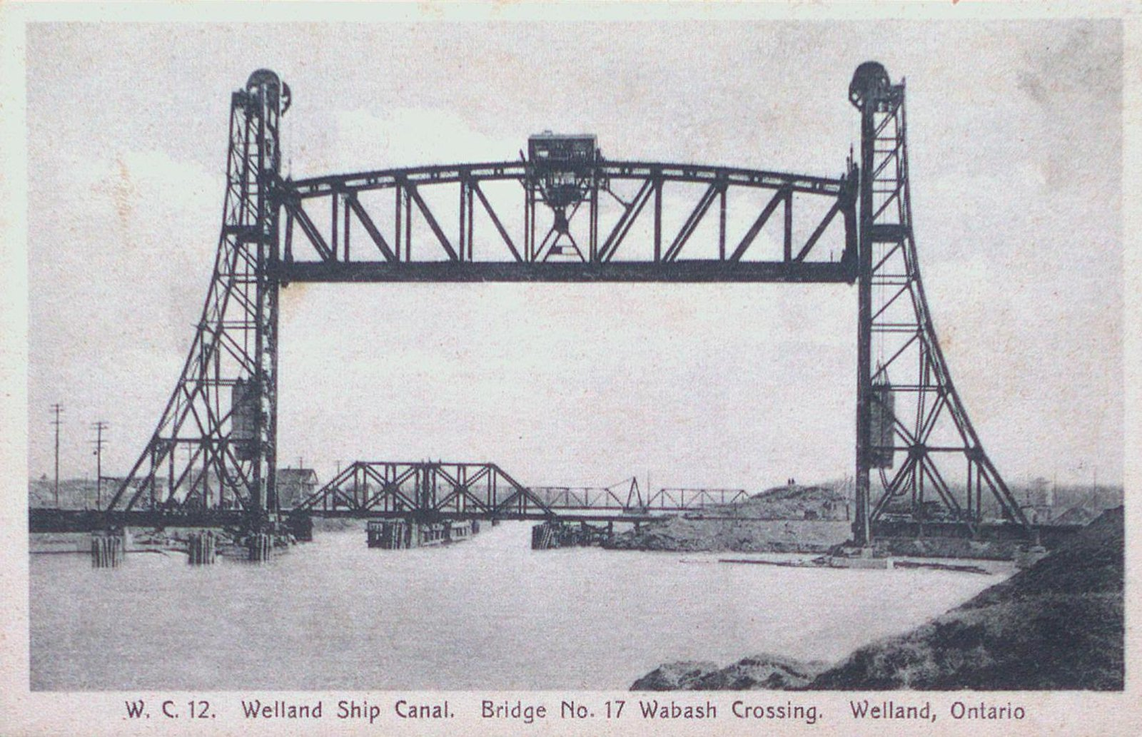 Wabash Lift Bridge on the Welland Ship Canal