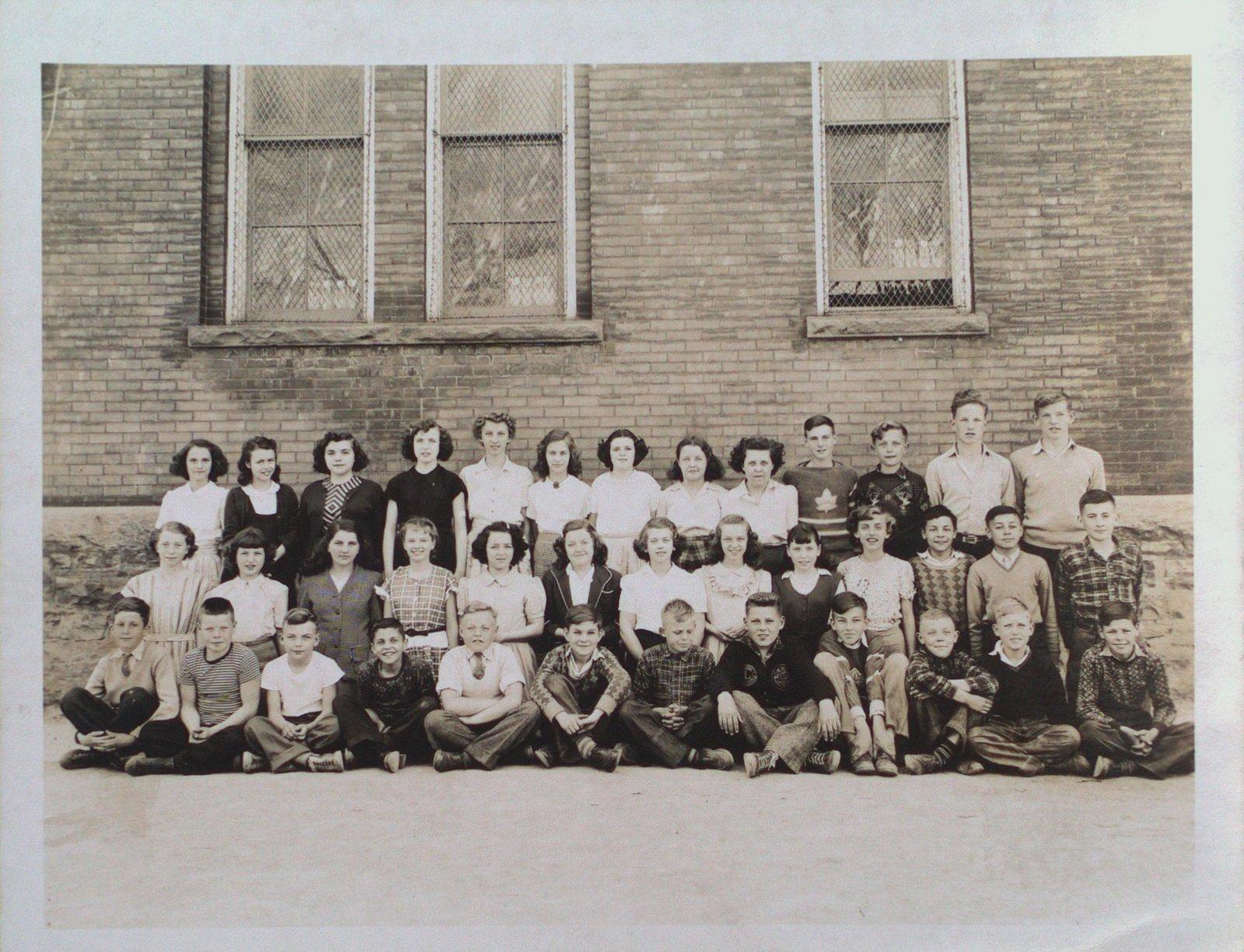 Class Portrait at Central School, Merritton