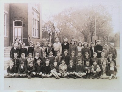 Class Portrait at Central School, Merritton