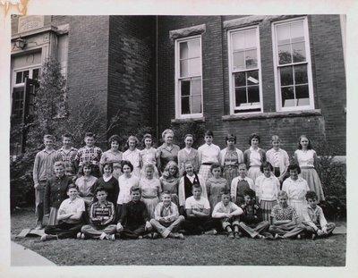 Grade 6 or 7 at Central School, Merritton