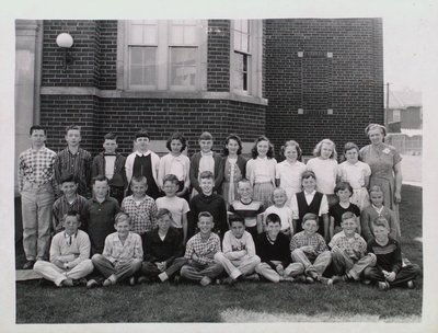 Class Portrait at Maple Crest School, Merritton