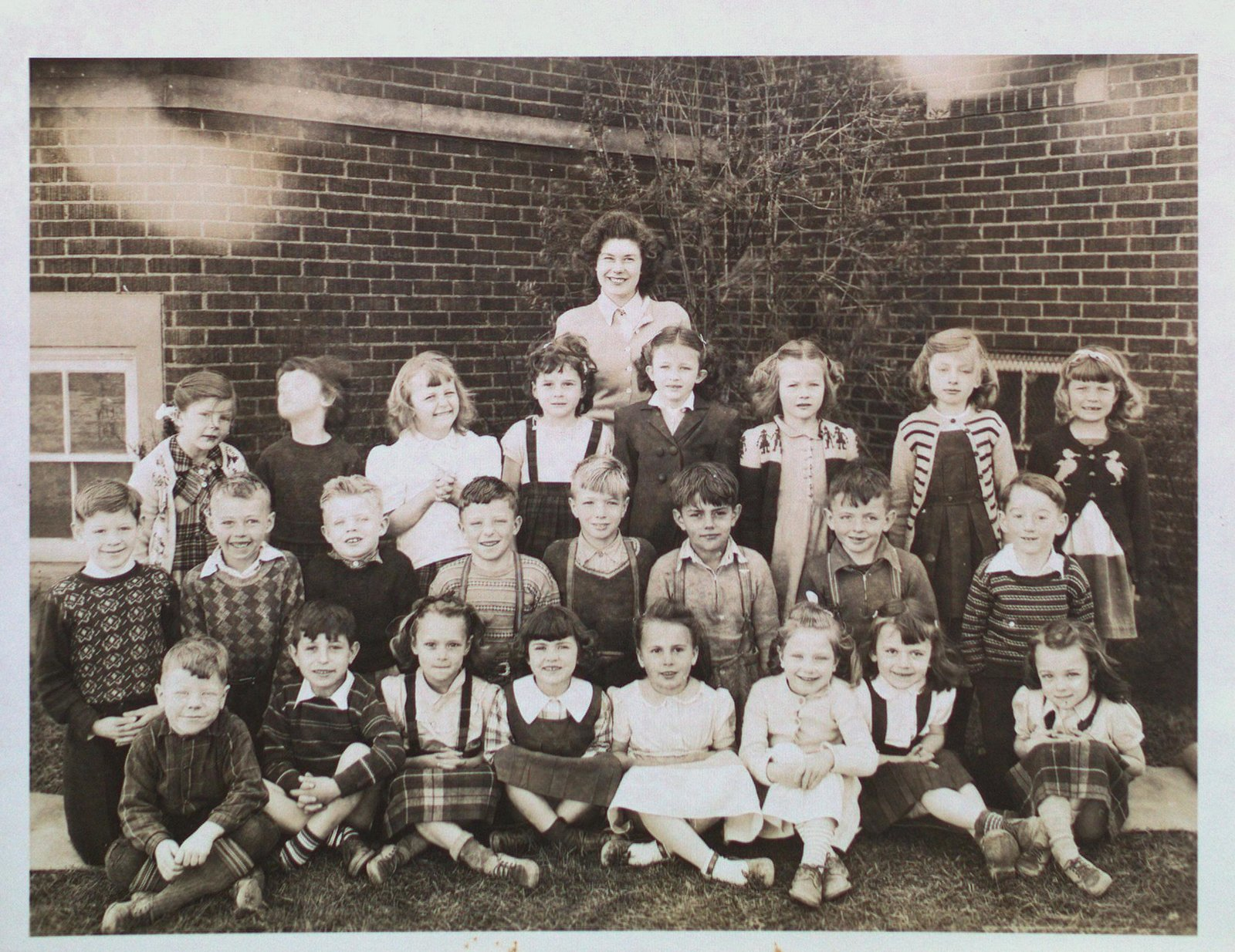 Class Portrait at Maple Crest School, Merritton
