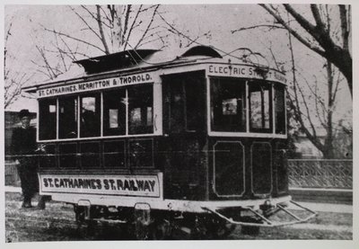 St. Catharines, Merritton & Thorold Railway Car # 4
