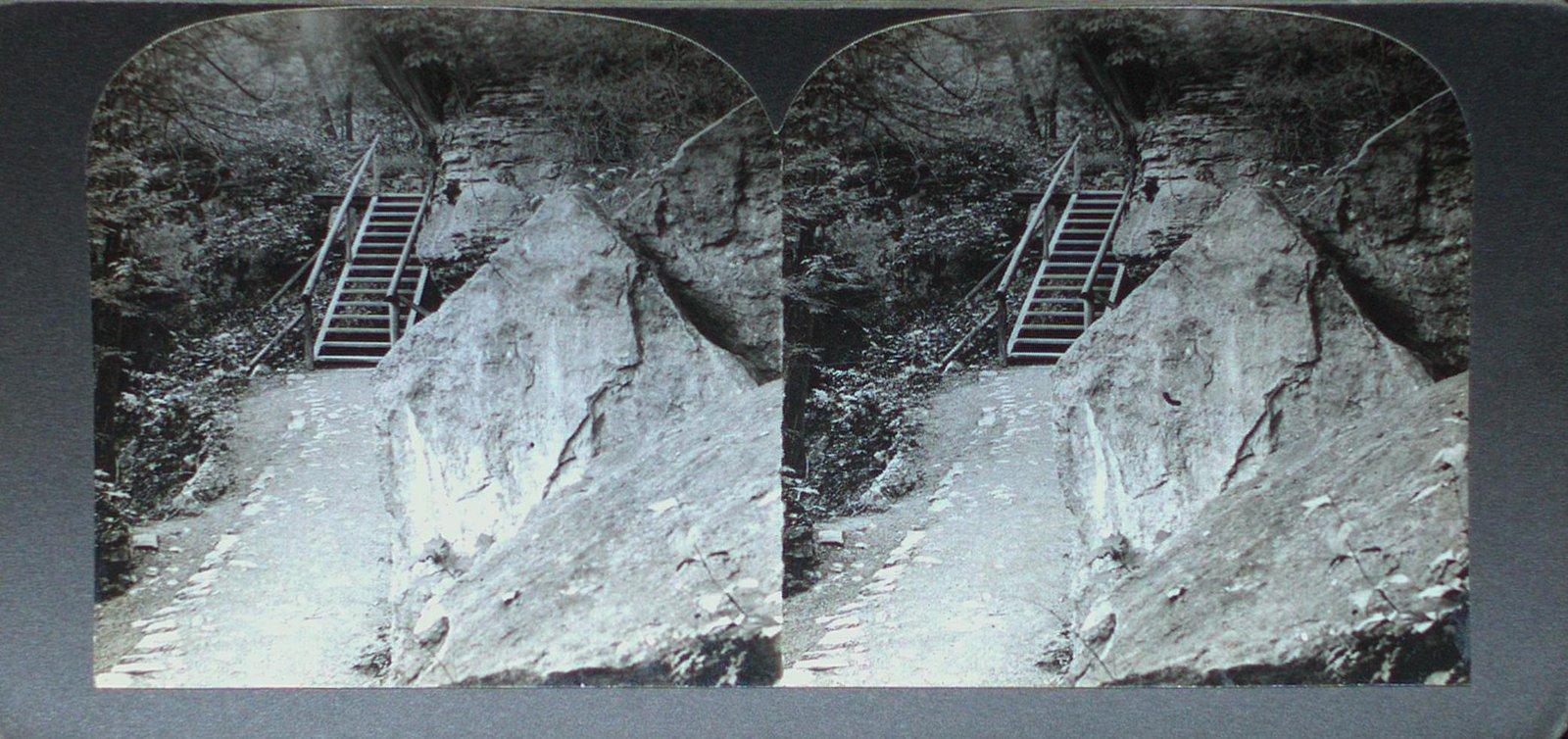 Footpath in Niagara Glen Below the Falls