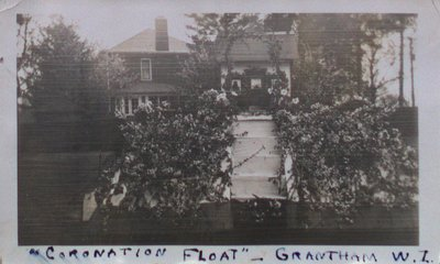 """Coronation Float"" - Grantham Women's Institute"