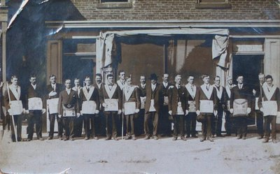 Members of a Masonic Lodge