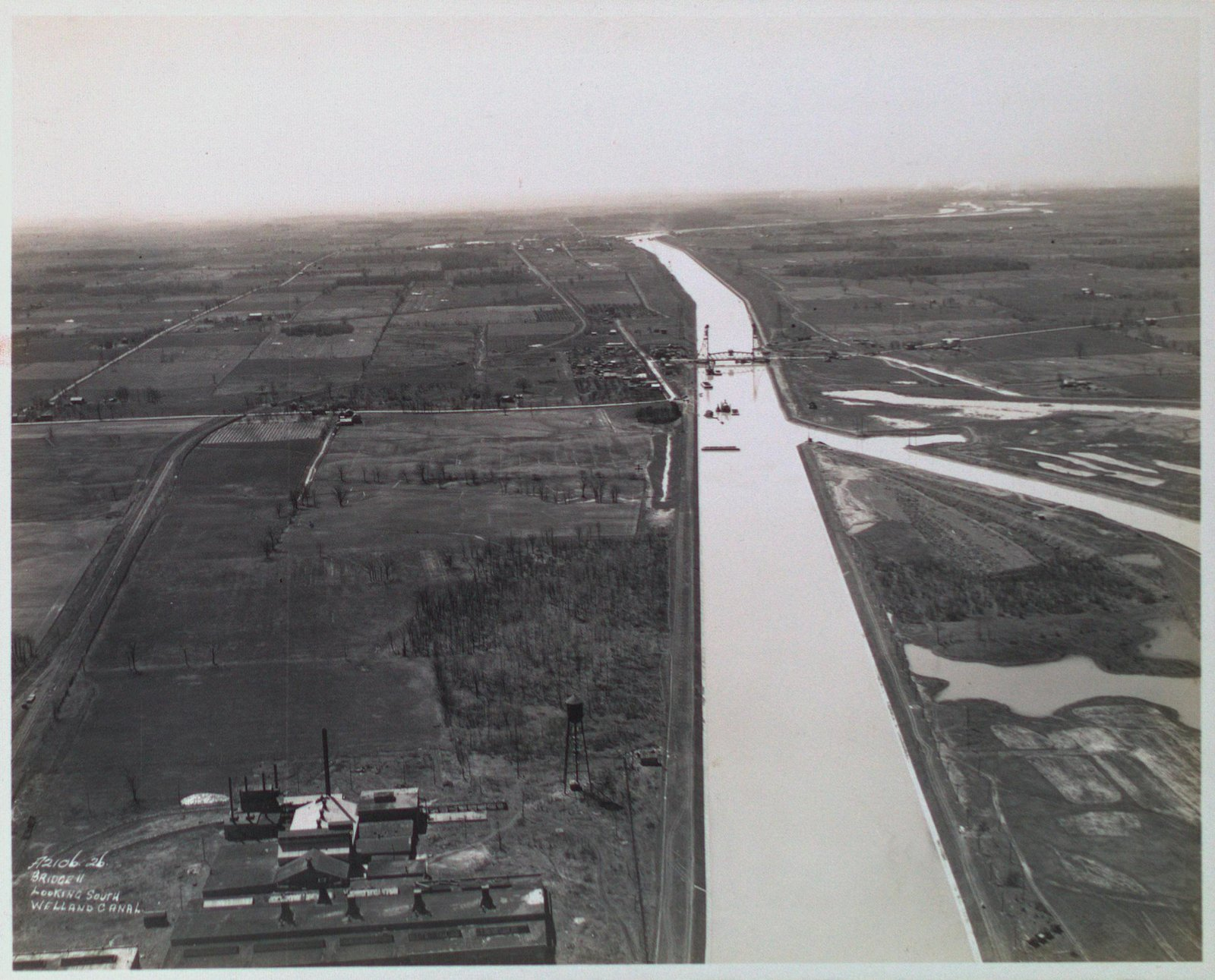 Bridge 11 (Allenburg) Looking South on the Welland Ship Canal