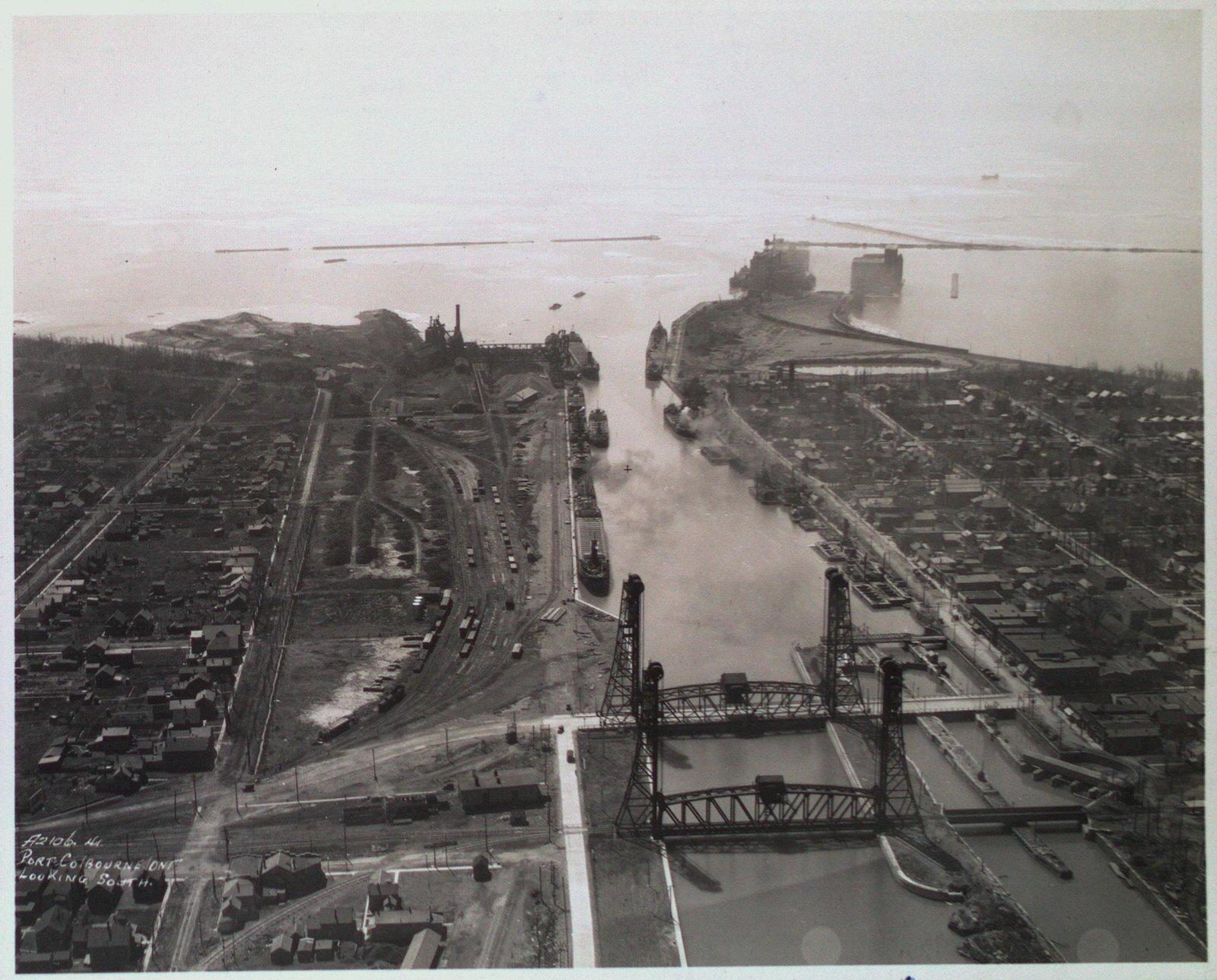 Bridges 20 & 21 and the Port Colborne Harbour