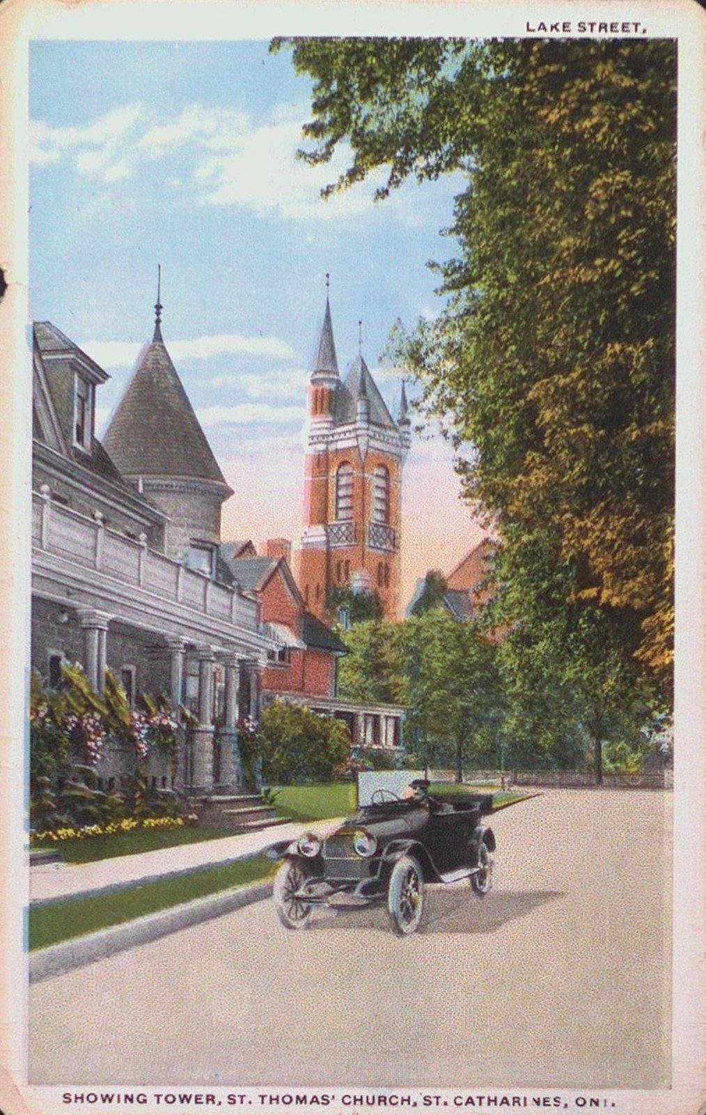 Lake Street Showing St. Thomas Church