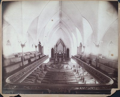 Original Interior of Welland Avenue Methodist Church