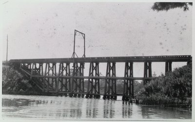 Martindale Railway Bridge over Martindale Pond