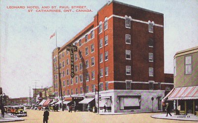 The Leonard Hotel and St. Paul Street